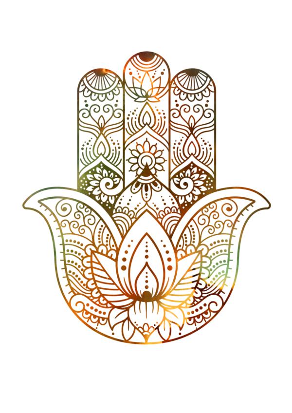 Hamsa Hand - Nebula