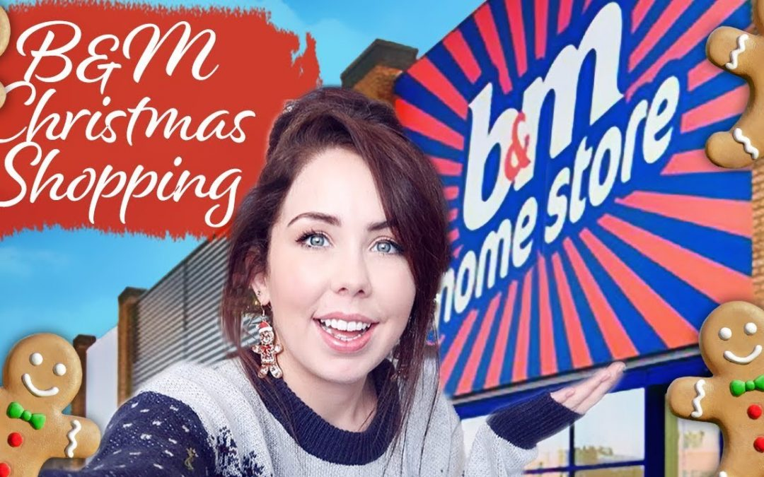 COME TO B&M WITH ME CHRISTMAS SHOPPING | New in B&M 🎄