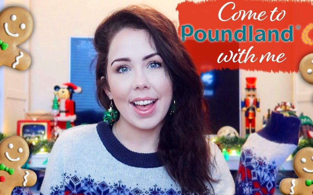 POUNDLAND HAUL & VLOG   Come To Poundland With Me + Haul!